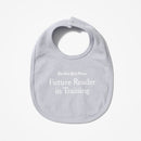 Reader in Training Baby Bib