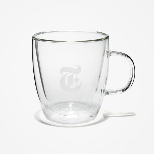 "Double Walled ""T"" Mug"