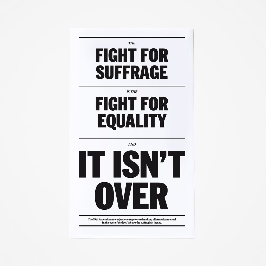 Fight for Equality Poster