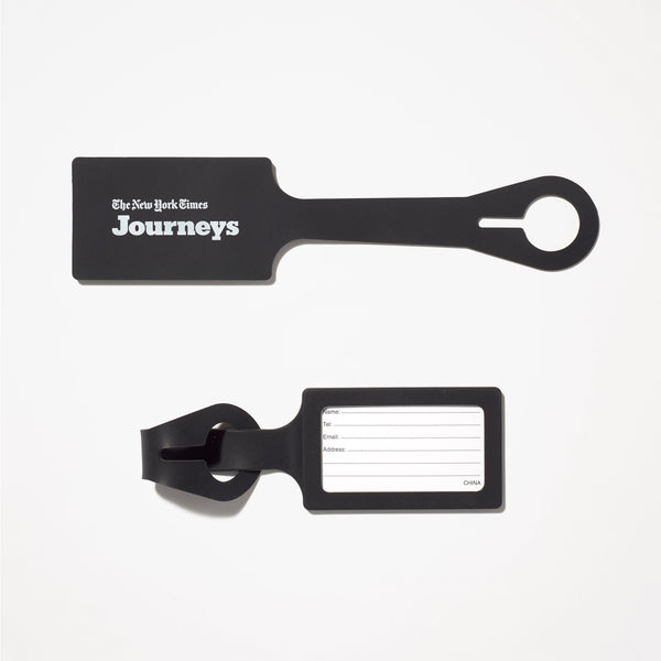 Times Journeys Luggage Tags (Set of 2)