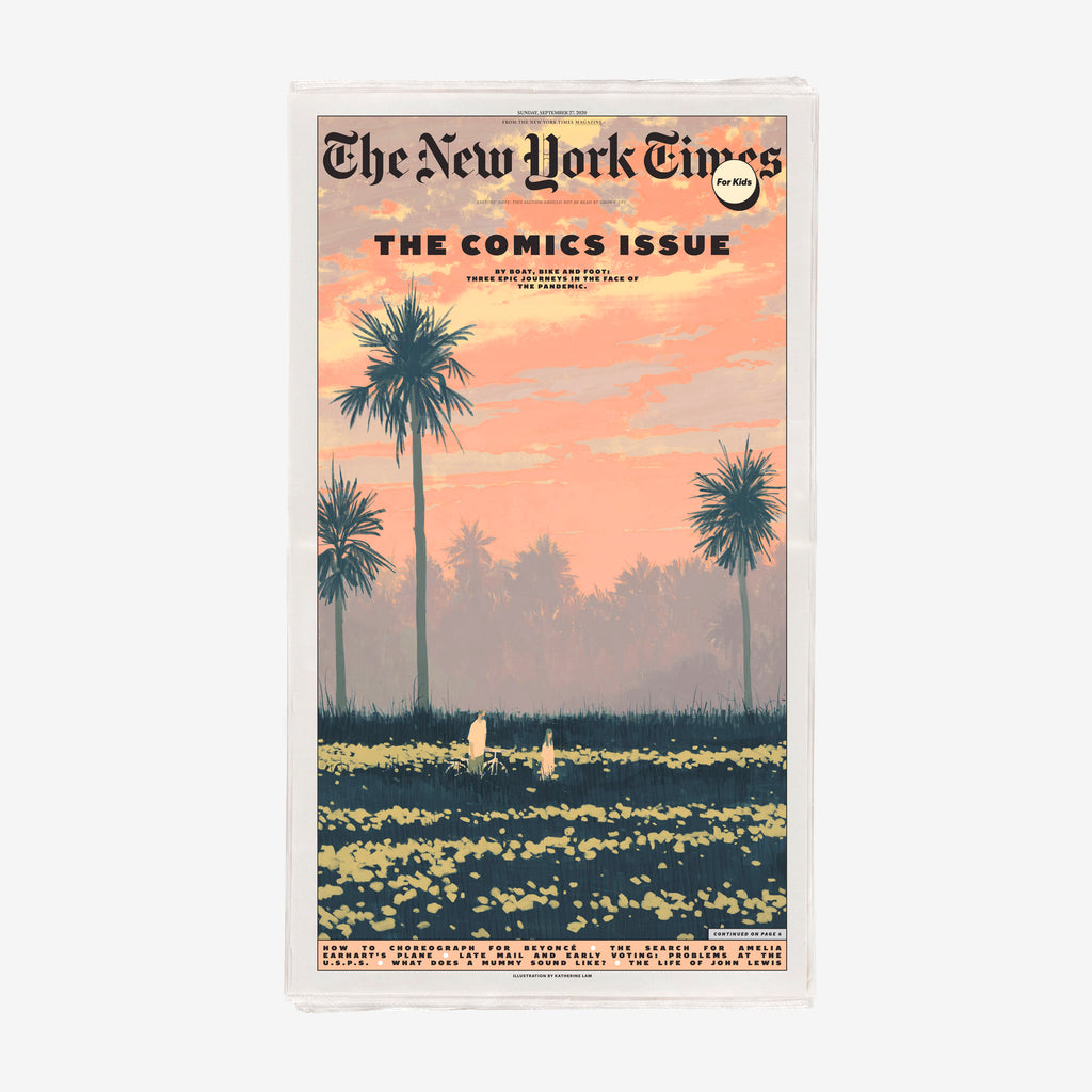 NYT For Kids: Comics Issue