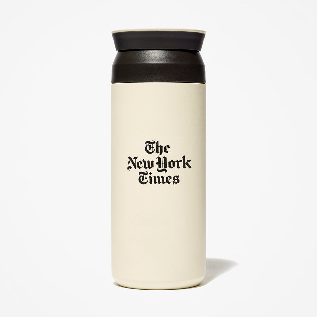Stacked Logo Travel Tumbler
