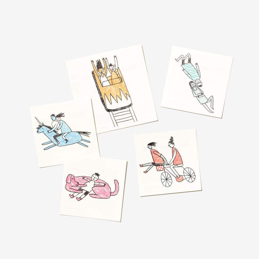 Modern Love Tattoos (Set of 5)