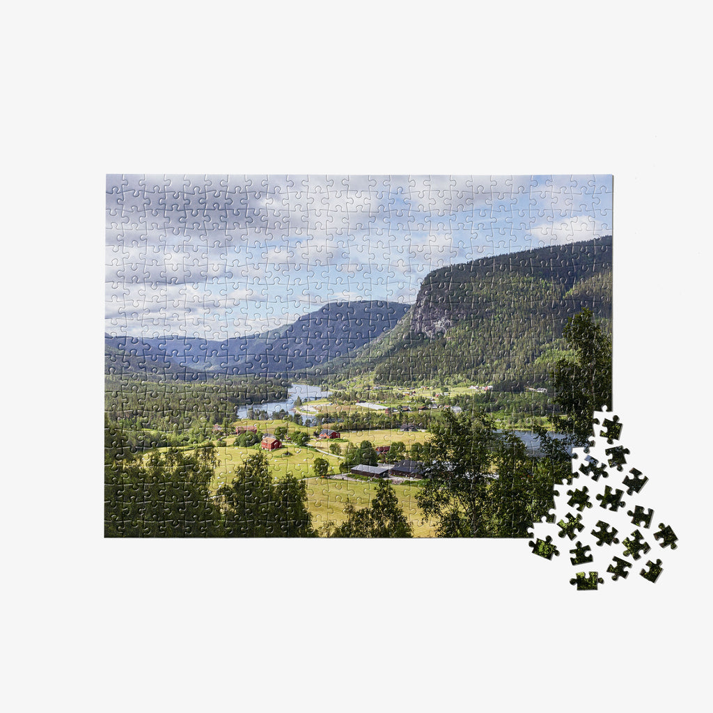 Norwegian Valley Travel Puzzle