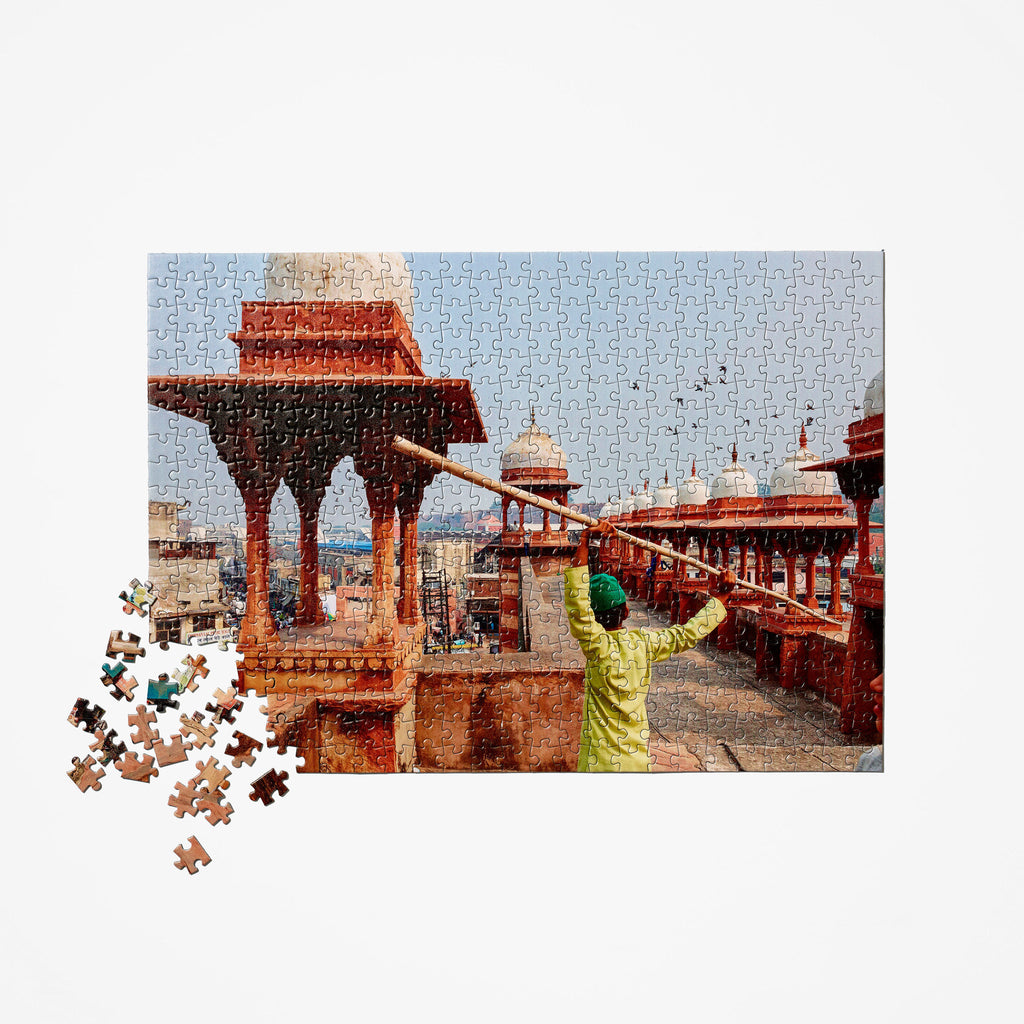 Indian Mosque Travel Puzzle
