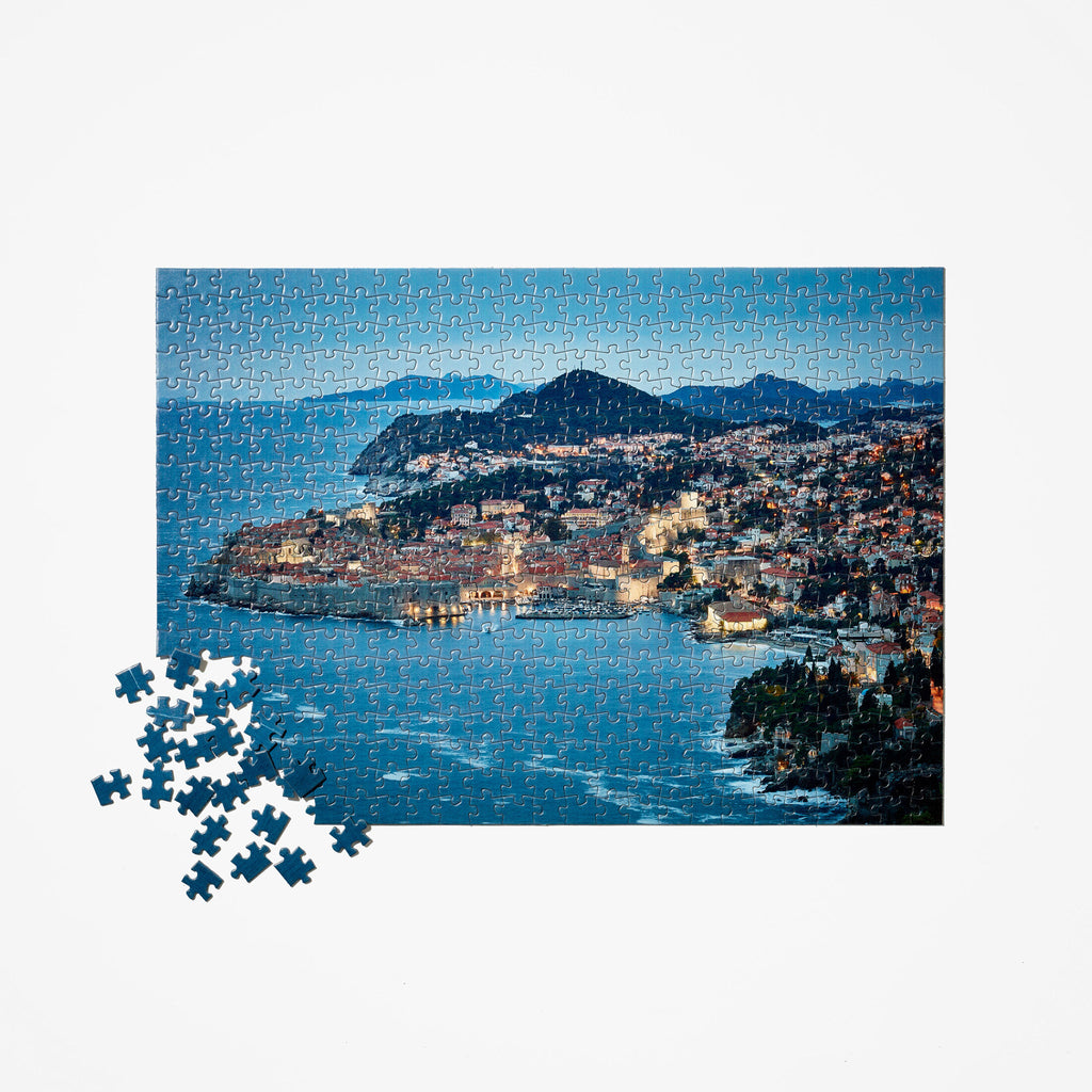 Seaside City Travel Puzzle