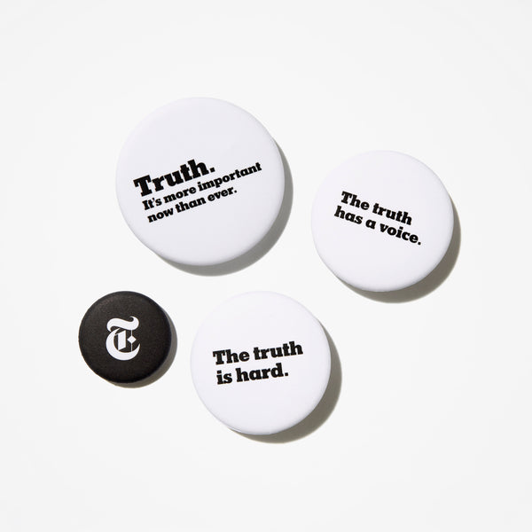 Truth Buttons (Set of 4)