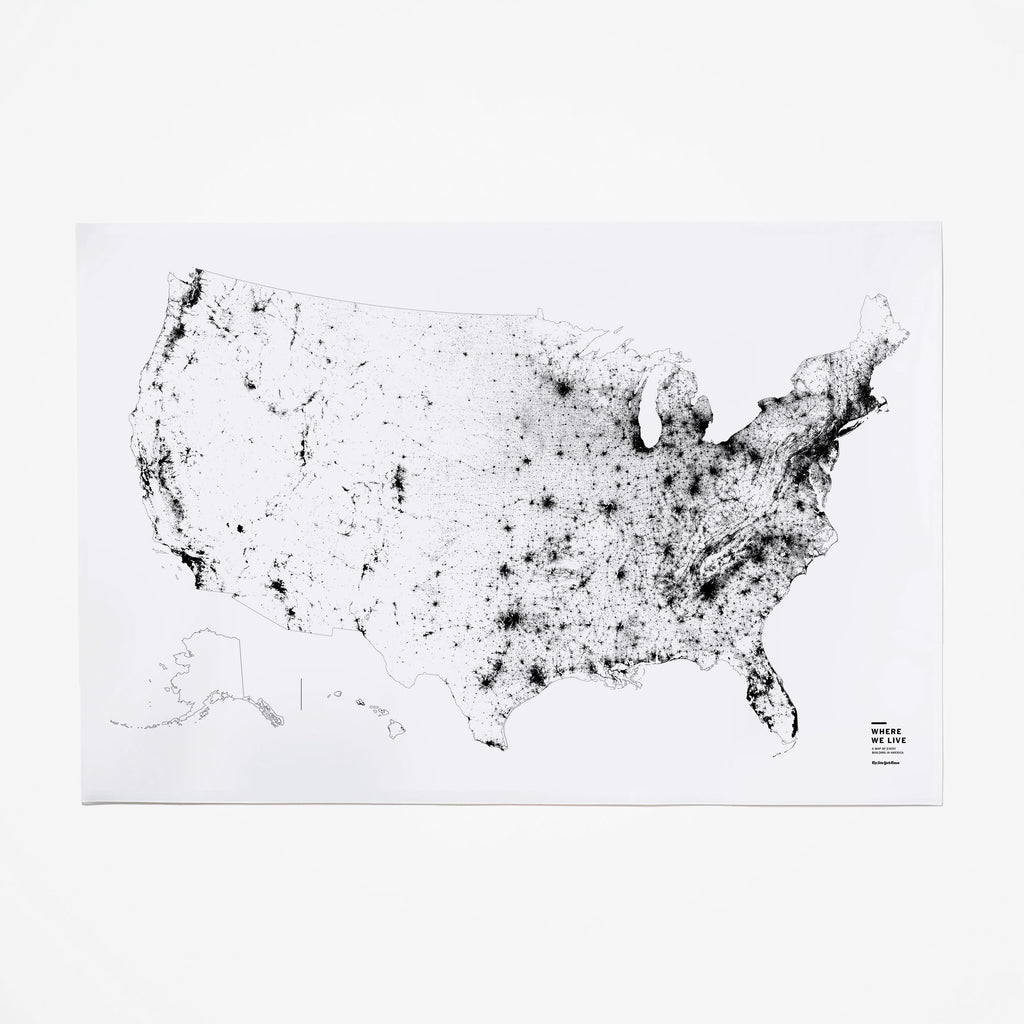 Map of Every Building in America