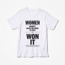 Women's Right to Vote Shirt