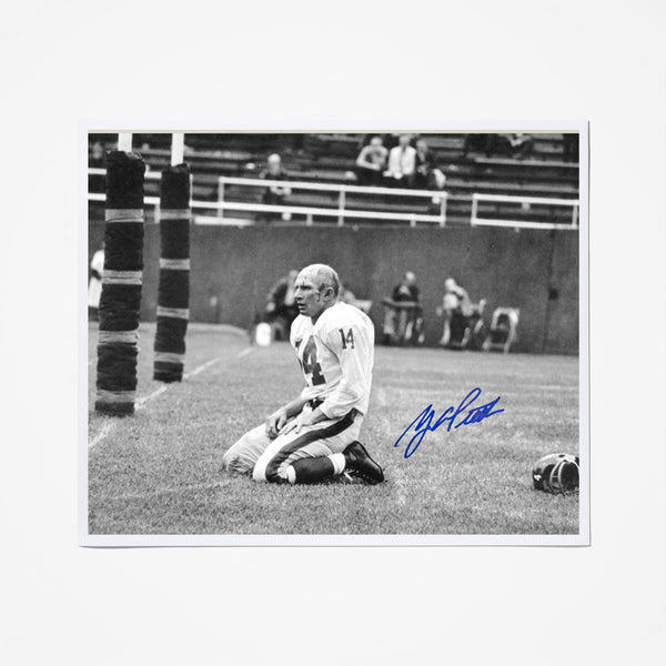 Y.A. Tittle Signed Photo