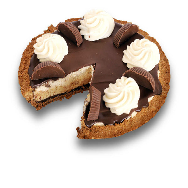 Sliced Reese's Peanut Butter Pie from The Pie Hole