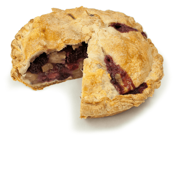 Sliced Vegan Apple Blackberry Pie from The Pie Hole