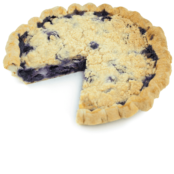 Sliced Blueberry Goat Cheese Basil Pie from The Pie Hole