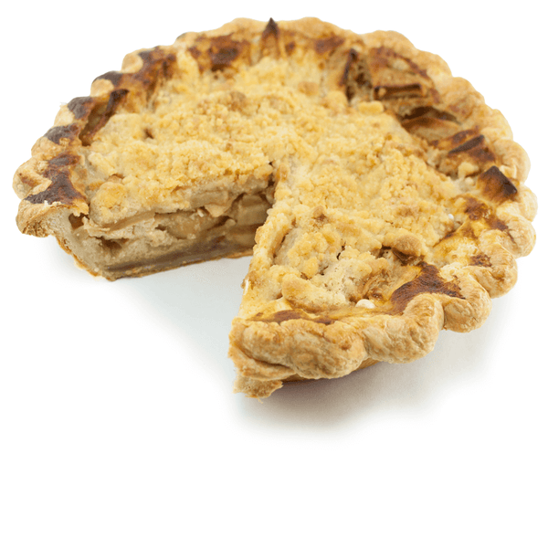 Sliced Buttermilk Apple Crumble from The Pie Hole