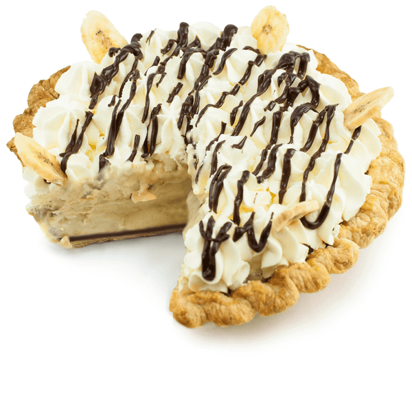 Sliced Chunky Monkey Pie from The Pie Hole