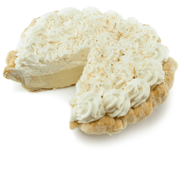 Sliced Coconut Cream Pie from The Pie Hole