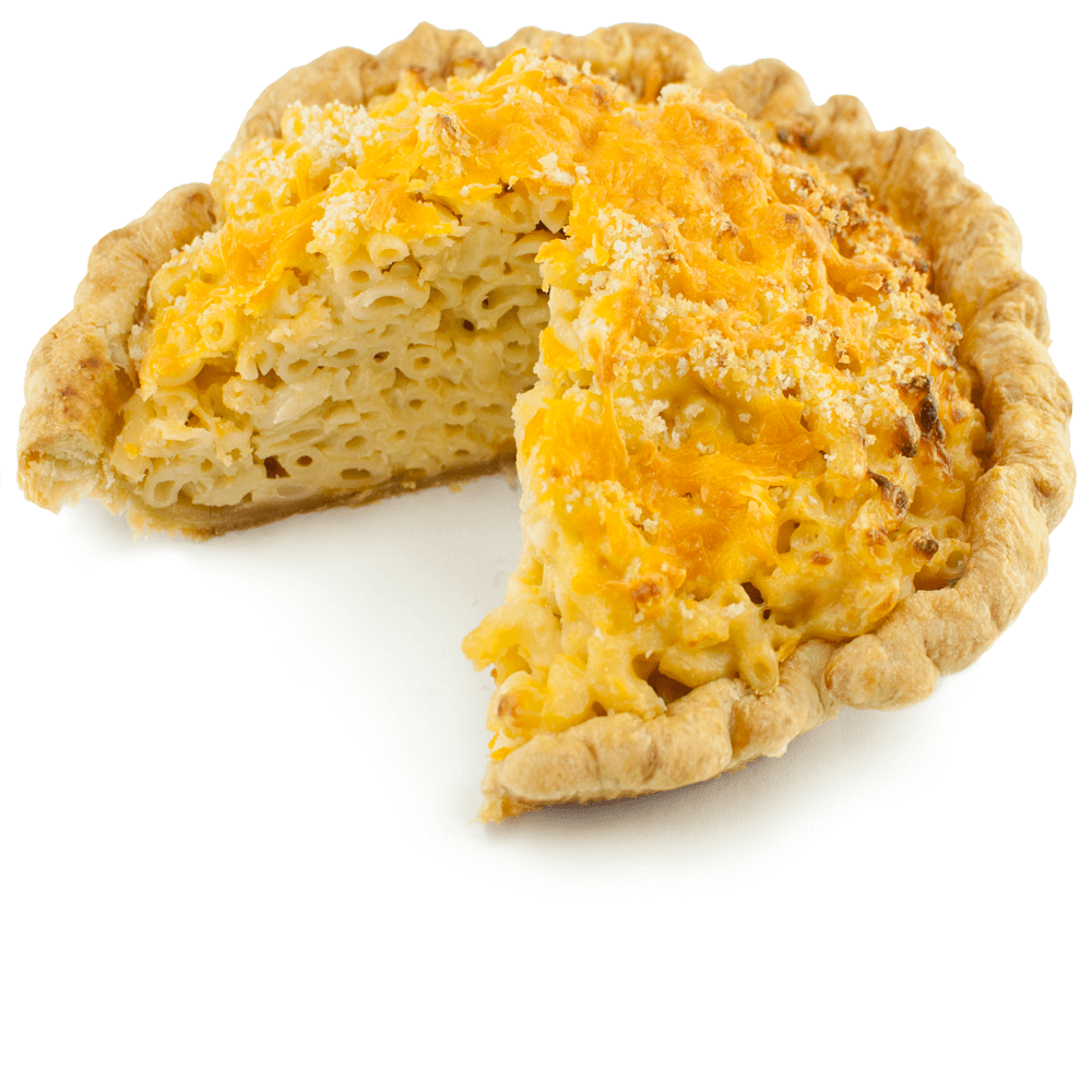 Sliced Mac & Cheese Pie from The Pie Hole