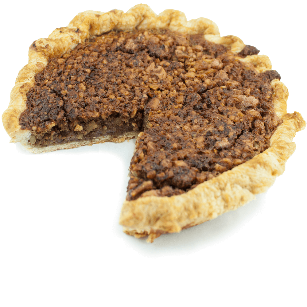 Sliced Maple Walnut Pie from The Pie Hole