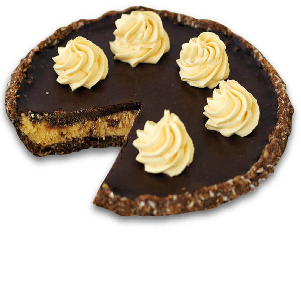 Sliced Nanaimo Bar Pie from The Pie Hole