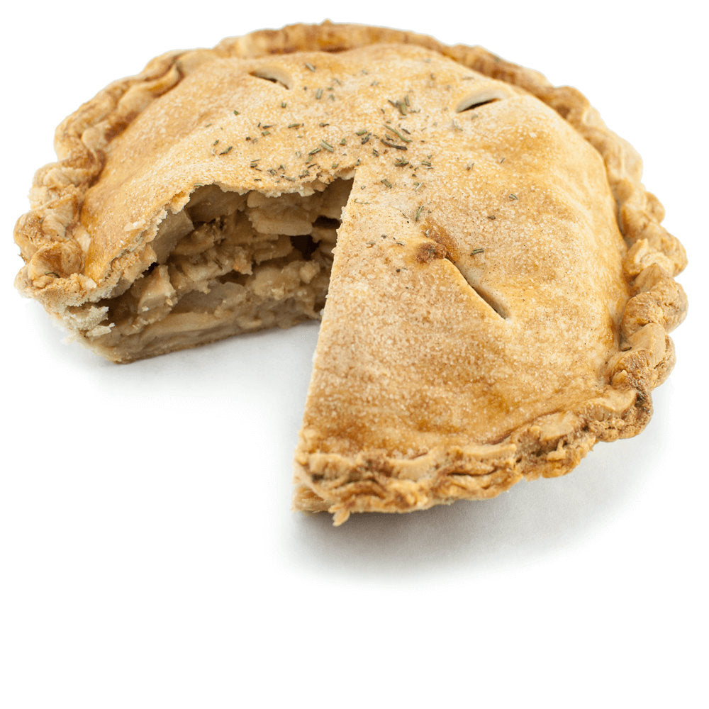 Apple Brown Butter Rosemary Pie