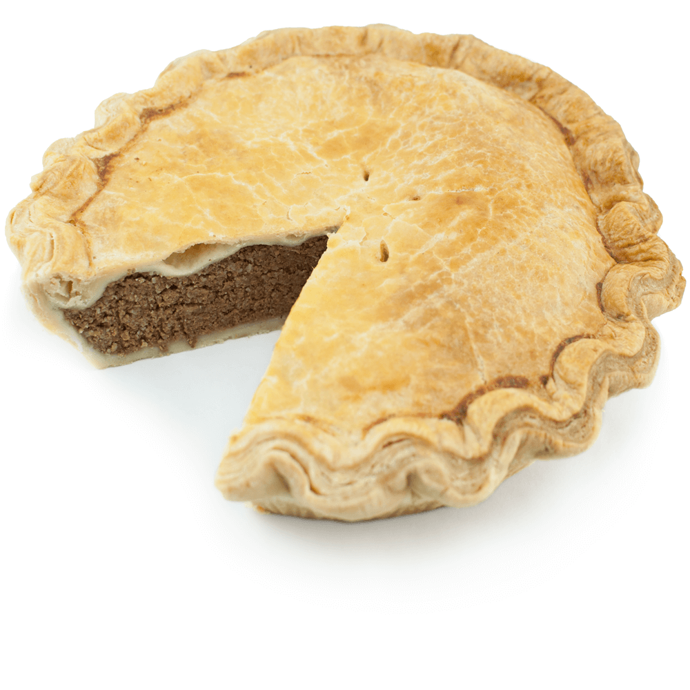Sliced Tourtiere from The Pie Hole