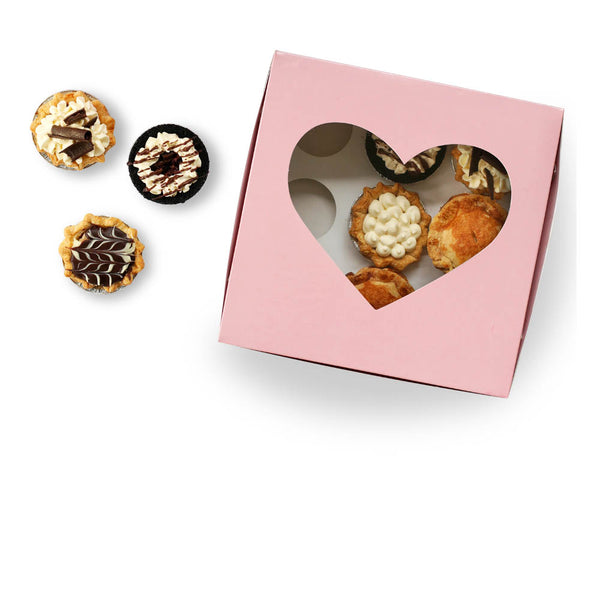 Box of Valentines Day Mini Pie Box from The Pie Hole
