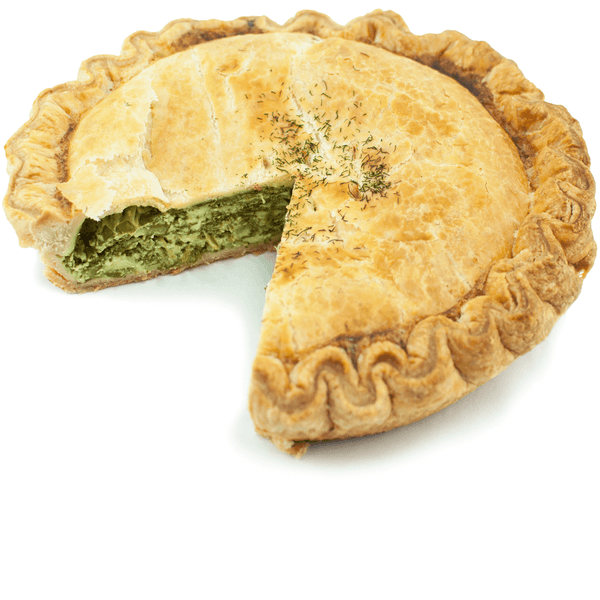 Sliced Spinach & Feta Pie from The Pie Hole