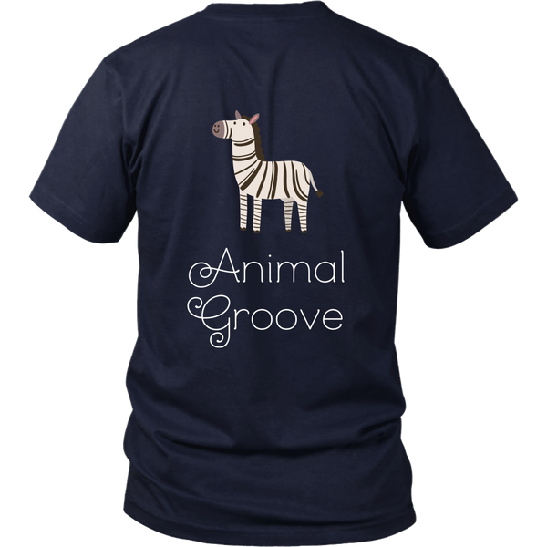 Zebra Animal Groove Short Sleeve