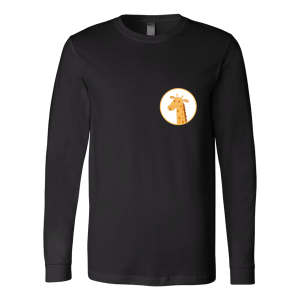 Giraffe Animal Groove Long Sleeve