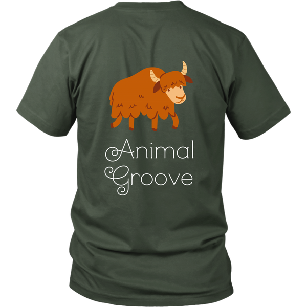 Yak Animal Groove Short Sleeve