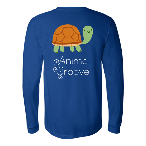Turtle Animal Groove Long Sleeve