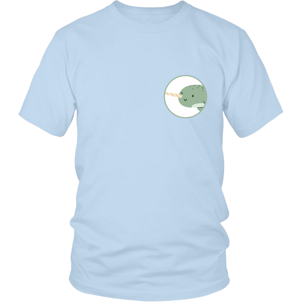Narwhal Animal Groove Short Sleeve