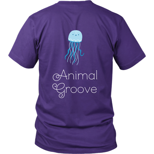 Jellyfish Animal Groove Short Sleeve