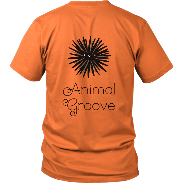 Sea Urchin Animal Groove Short Sleeve
