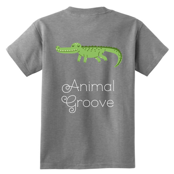 Gator Animal Groove Kids Shirt