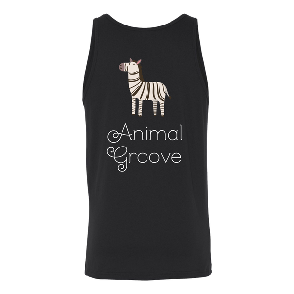 Zebra Animal Groove Tank Top