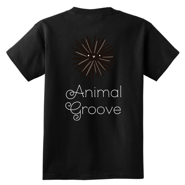Sea Urchin Animal Groove Kids Shirt