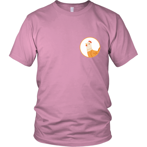 Chicken Animal Groove Short Sleeve