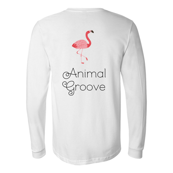 Flamingo Animal Groove Long Sleeve