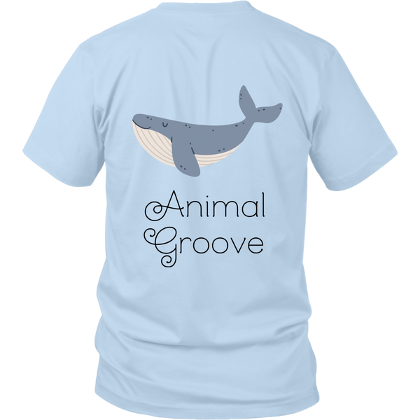 Whale Animal Groove Short Sleeve