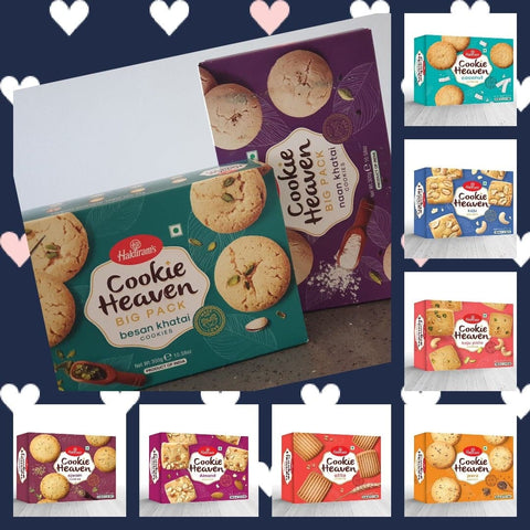 Haldiram's Cookies Heaven (Multiple Sizes)