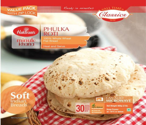 Haldiram's Phulka Roti Value Pack (30pcs)
