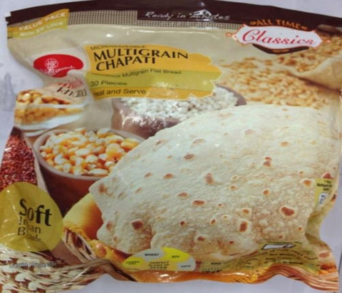 Haldiram's Multigrain Chapati Value Pack (30 Pcs - Syd & Melb only)