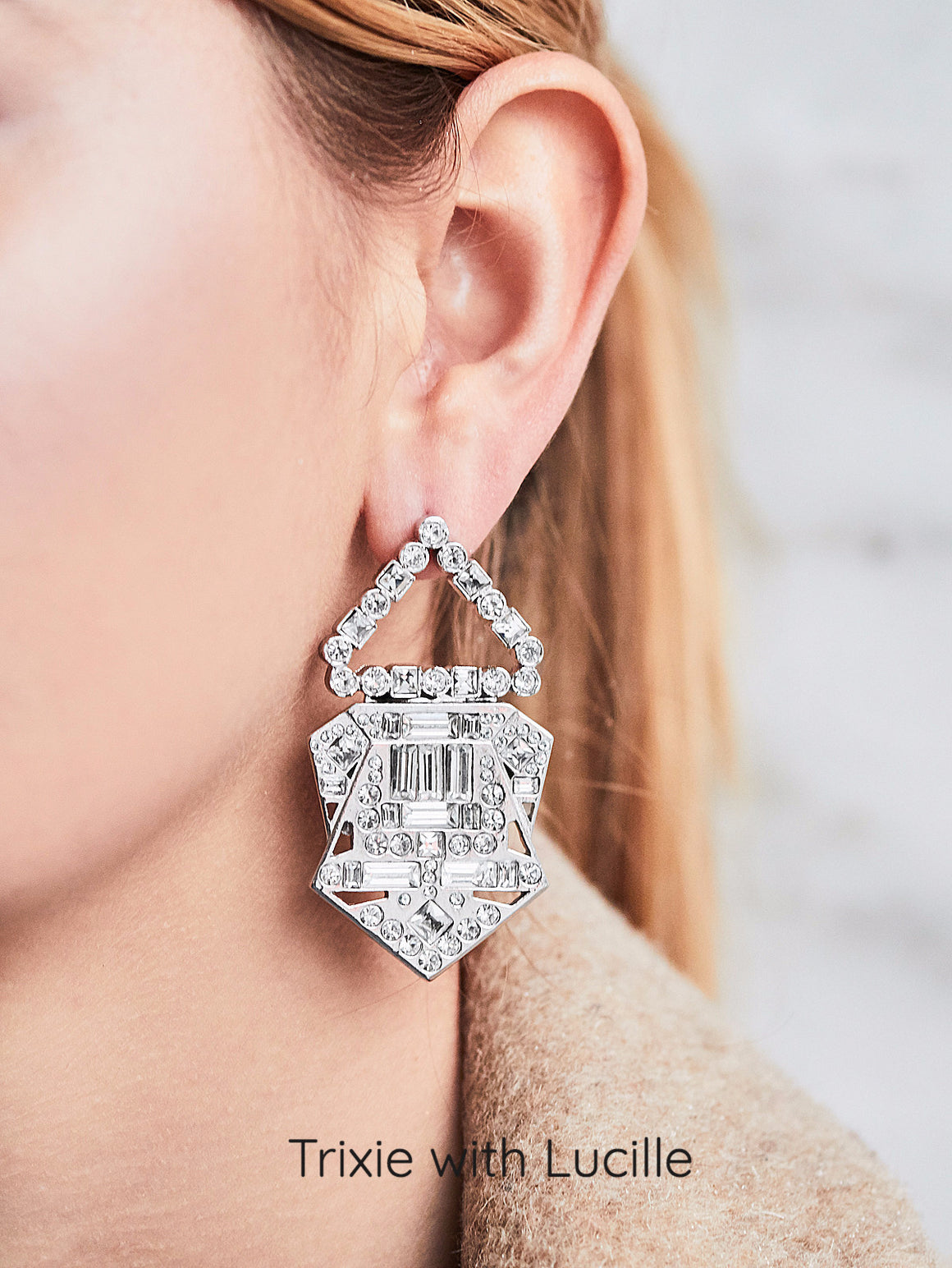 Jubilee Jones Trixie Earrings with Lucille Clips