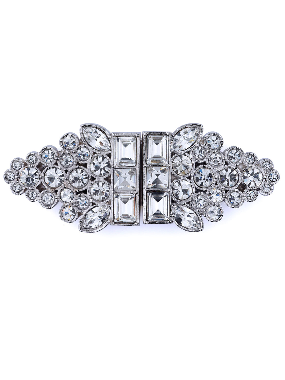 Bette Classic Double Clip Brooch - Jubilee Jones