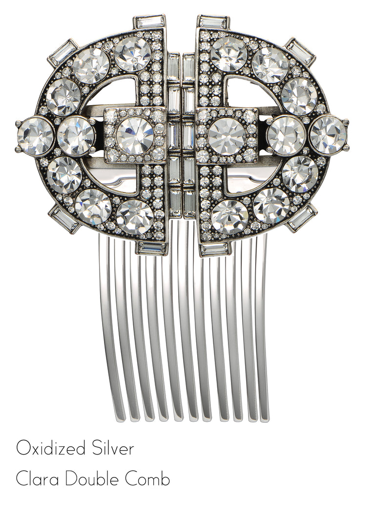 Clara Double Clip Hair Comb - Jubilee Jones