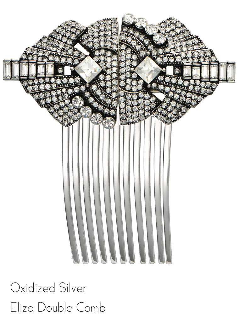 Eliza Double Clip Hair Comb - Jubilee Jones