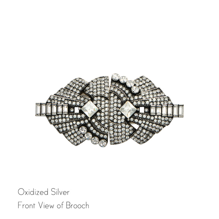 Eliza Double Clip Brooch - Jubilee Jones