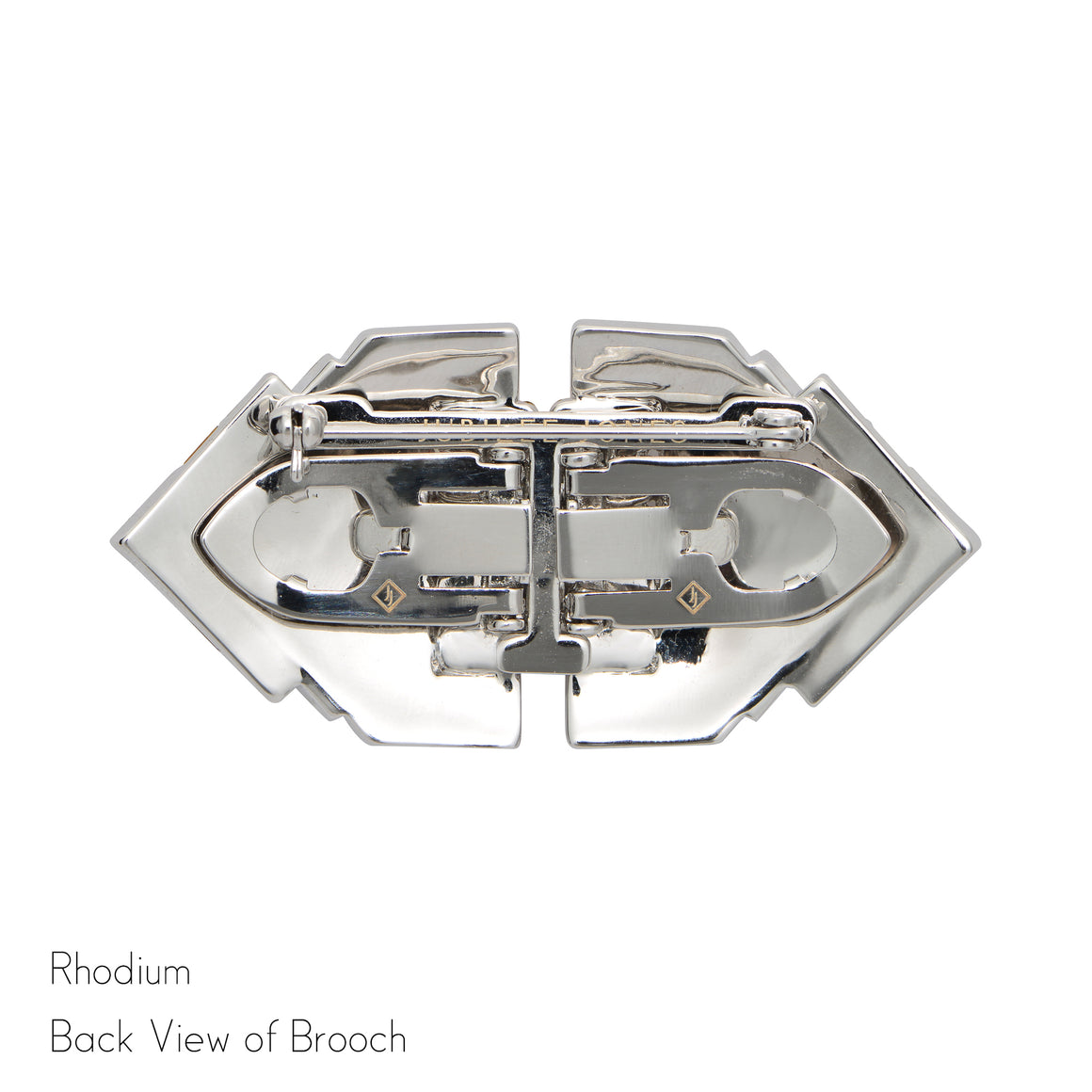 Jackie Double Clip Brooch - Jubilee Jones