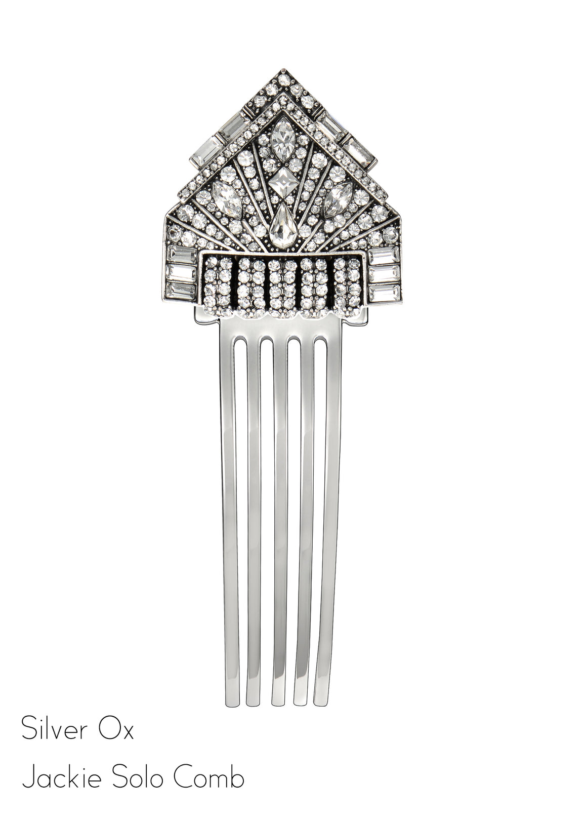 Jackie Solo Clip Hair Comb - Jubilee Jones